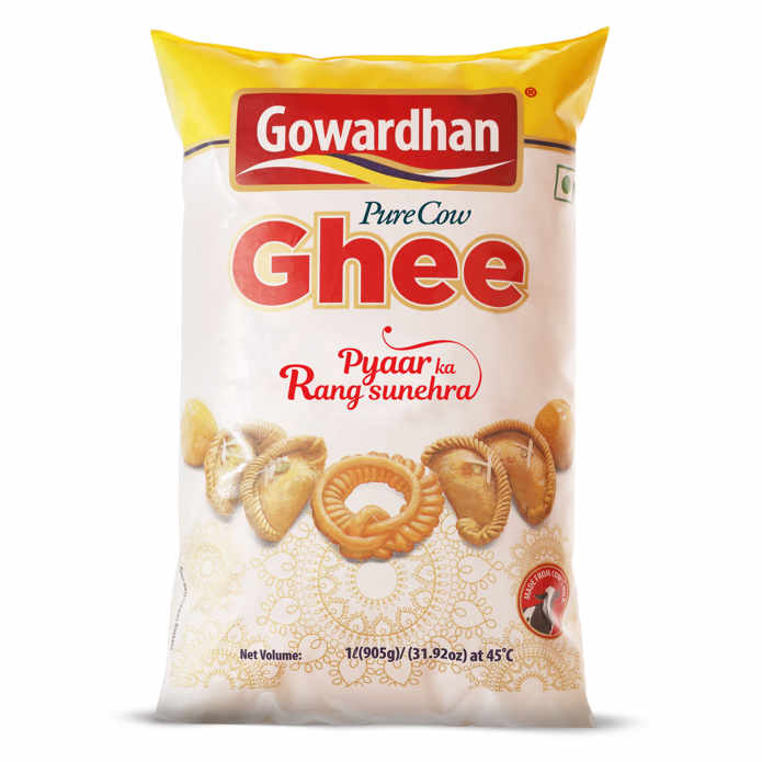 Gowardhan Pure Cow Ghee Pouch